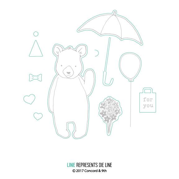 【コンコード&ナインス/CONCORD & 9TH】ダイ - Hi There Bear