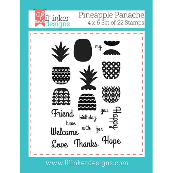 【リルインカーデザイン/Lil' Inker Designs】Pineapple Panache