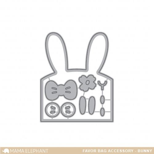【ママエレファント/MAMA ELEPHANT】 ダイ-Favor Bag Accessory - Bunny/バニー