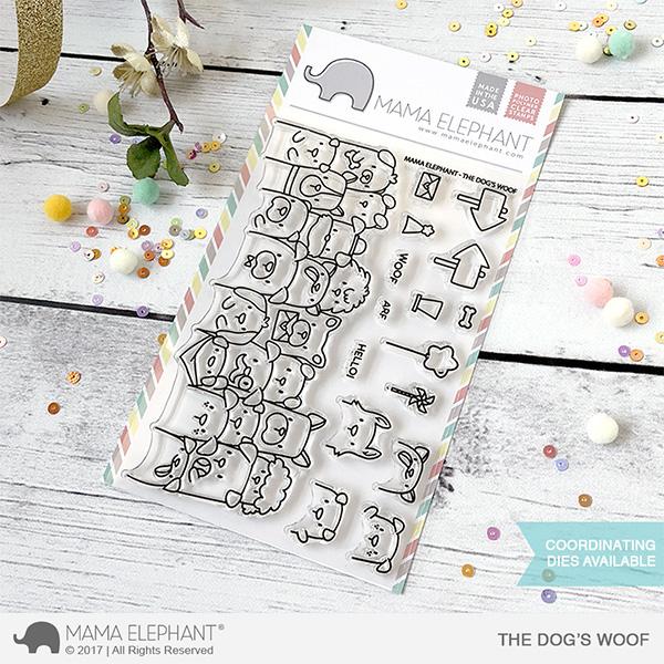 【ママエレファント/MAMA ELEPHANT】 クリアスタンプ - THE DOG'S WOOF