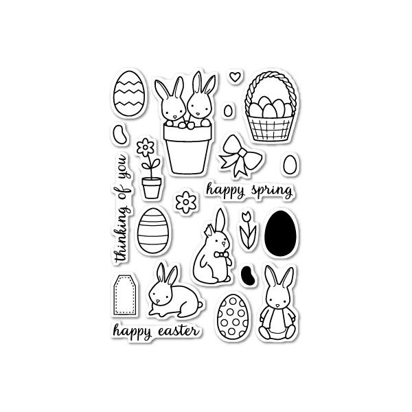 【メモリーボックス/Memory Box】 - Springtime Bunnies