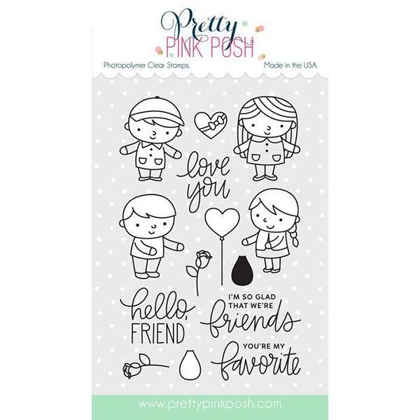 【プリティピンクポッシュ/Pretty Pink Posh】Friends Forever